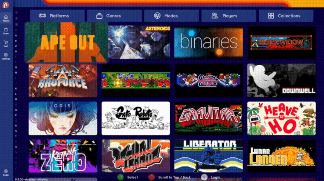 système jeux arcade borne arcade
