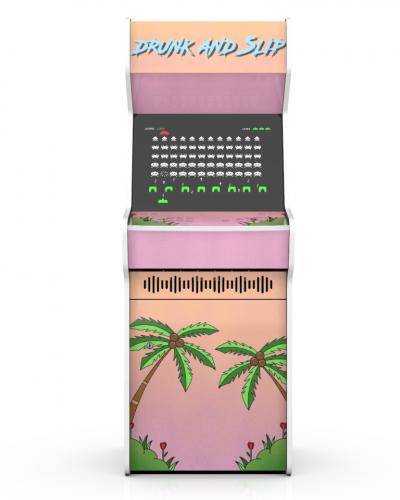 Borne arcade-for-good drunk and slip f